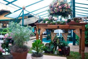 Flores e Eventos - Mini Wedding Vintage